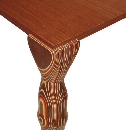 Tisch mit Fuß